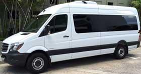 2014 Luxury Mercedes Benz Sprinter Passenger Van (14 Passengers) Limo