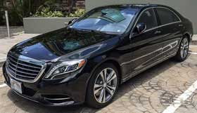 Mercedes S550 Luxury Limo Sedan Limo Service in Delaware County PENNSYLVANIA