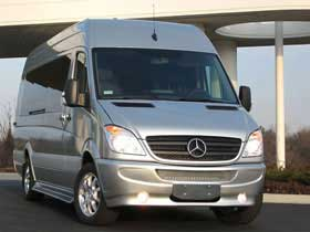 Mersedes Limousine Van Limo Service in Irvine CALIFORNIA