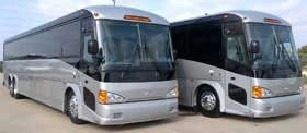 Motorcoach from 36 until 57 Passengers Limo Service in Irvine CALIFORNIA