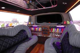 Party Limo Interior Limo Service in Disney World FLORIDA