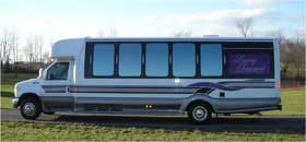 Charter Bus Limo Service in Delaware County PENNSYLVANIA